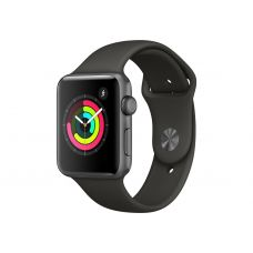 Apple Watch Series 3, 42 мм, корпус из алюминия цв…