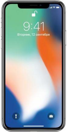 Apple iPhone X 256 ГБ Серебристый EU