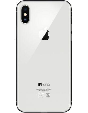 iPhone X 256 ГБ Серебристый задняя крышка
