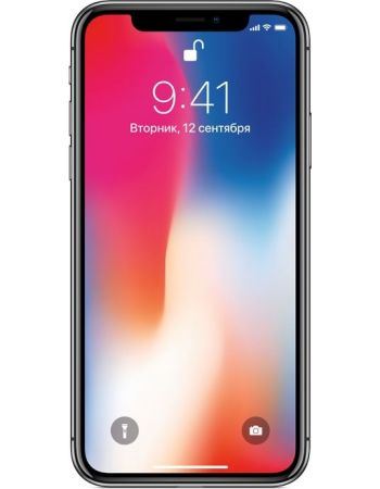 Apple iPhone X 256 ГБ Серый космос