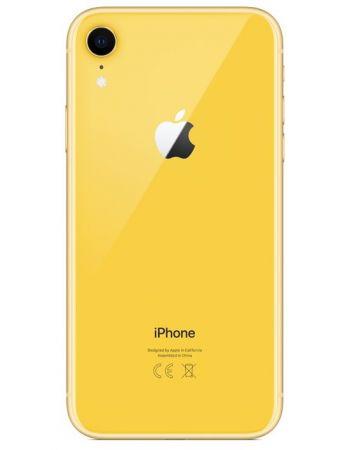 iPhone XR 64 ГБ желтый задняя крышка