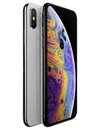 iPhone XS 64 ГБ серебристый задняя крышка с камерой и дисплей