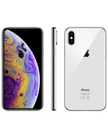 iPhone XS 64 ГБ серебристый задняя крышка ободок и дисплей