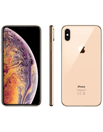 iPhone XS Max 64 ГБ золотой задняя крышка ободок и дисплей