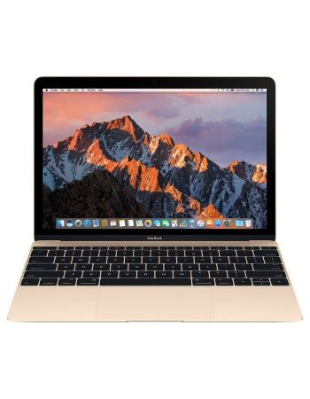 "Apple MacBook 12"" Retina Core m3 1,2 ГГц, 8 ГБ, 256 ГБ Flash, HD 615 золотой"