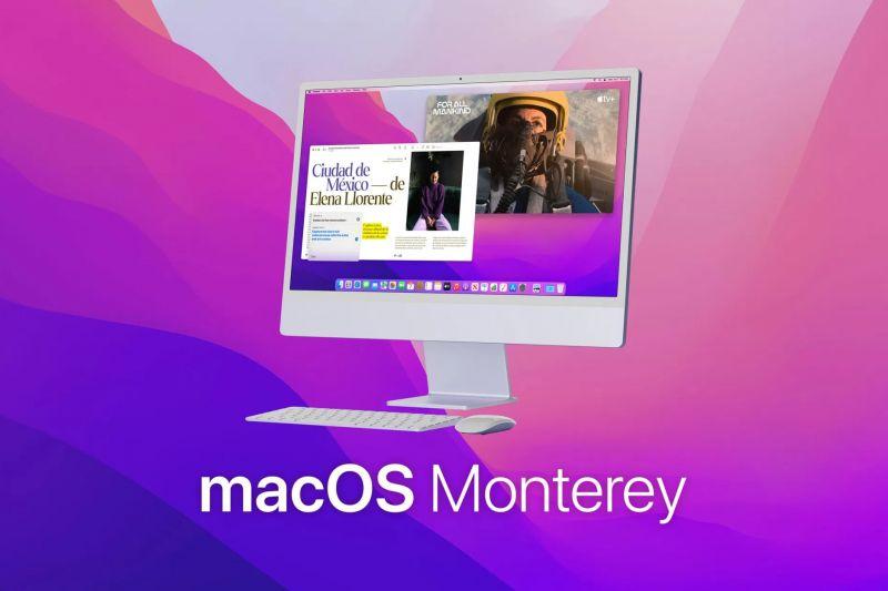 Apple официально представила бету macOS 12 Monterey