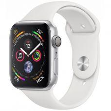 Apple Watch Series 4, 40 мм, корпус из серебристог…